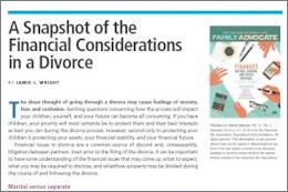 Trusts in Divorce Cases